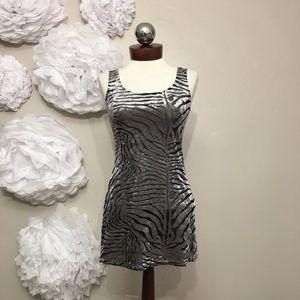 Betsey Johnson Dresses - BETSEY JOHNSON vintage velvet sheer bodycon dress